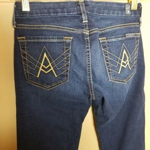 7FAM A Pocket Dark Wash Size 25